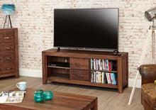 Load image into Gallery viewer, royal walnut widescreen television cabinet