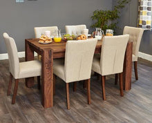 Load image into Gallery viewer, Walnut 150cm Dining Table (4/6 Seater)
