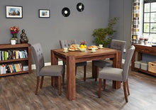 Load image into Gallery viewer, walnut full back dining chair stone