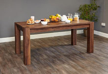 Load image into Gallery viewer, walnut large dining table 6 8