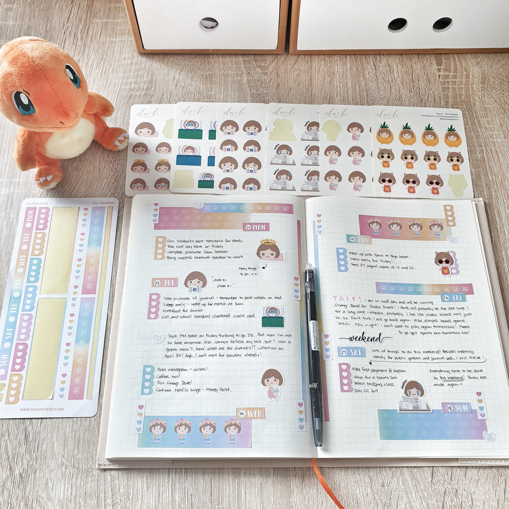 Hobonichi Weeks Kit! And how to use them?
