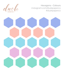 BTB - Hexagons (Colours)