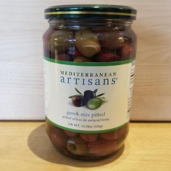 Greek Olive  Mix PITTED