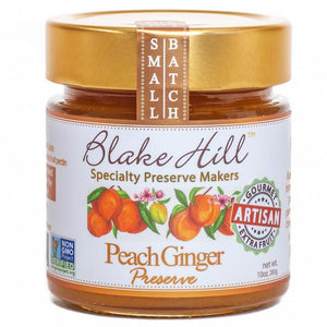 Blake Hill  Peach & Ginger Preserve - 10oz