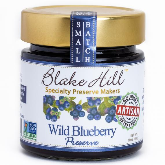 Blake Hill Wild Blueberry Preserve - 10oz