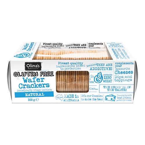Olina's - Gluten Free Natural Wafer Crackers