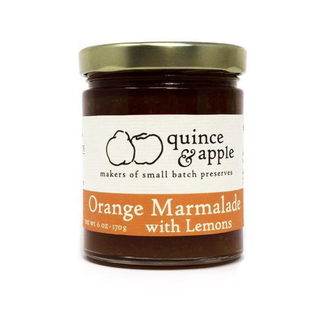 Quince & Apple Orange Marmalade with Lemons - 6oz