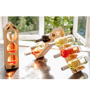 Rack Pack Wine Box/Rack