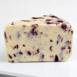 Wenslydale with Cranberry - 1/2 LB