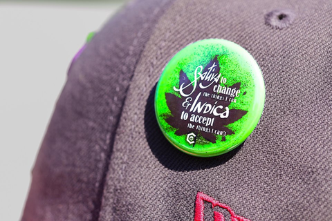 The Medical Cannabis Community Buttons