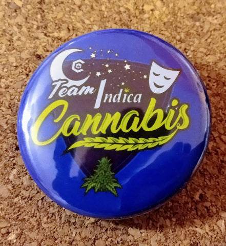 """Team Indica"" 1.5"" button"