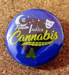 "The Medical Cannabis Community ""Sativa/Indica"" 4-Pack 1.5"" Button"