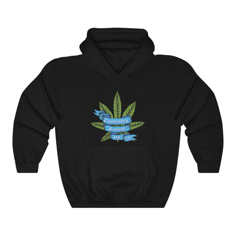 Cannabis Saved My Life Unisex Heavy Blend™ Hoodie