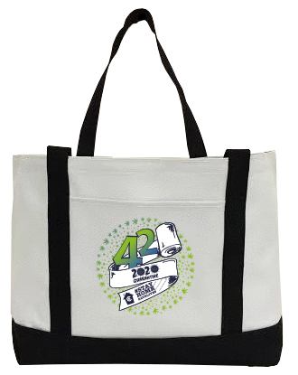 420 - 2020 Quarantine Canvas Bag