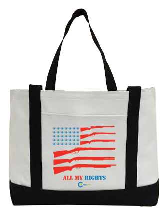 All My Rights Flag Canvas Bag