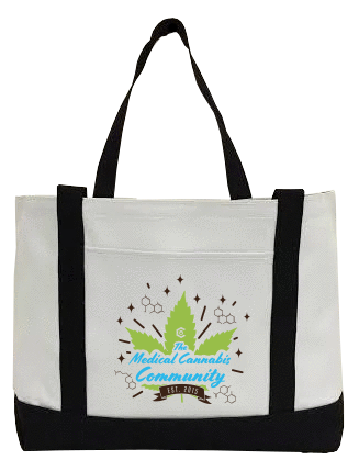 Cannabinoids Canvas Bag
