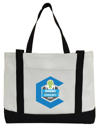 Cannabis Community Insider Canvas Bag