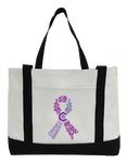 Crohn's Awareness Canvas Bag