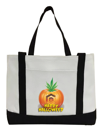 Halloweed Canvas Bag
