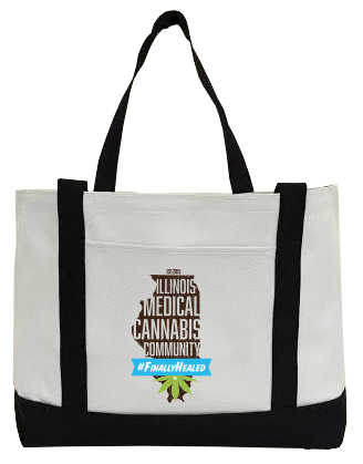Illinois Medical Cannabis Community Canvas Bag