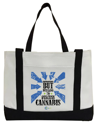Introvert Canvas Bag
