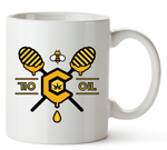 710 OIL Honey Mug 11 Oz