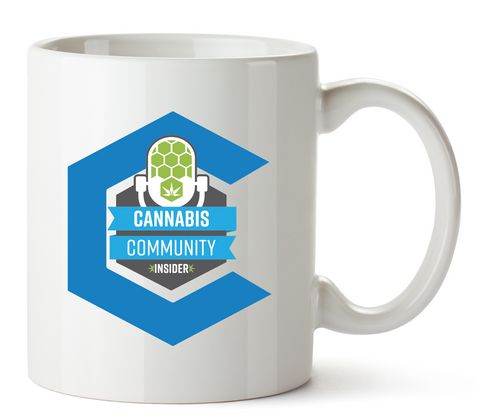Cannabis Community Insider Mug 11 Oz
