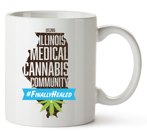 Illinois Medical Cannabis Community Mug 11 Oz