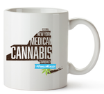 New York Medical Cannabis Community Mug 11 Oz