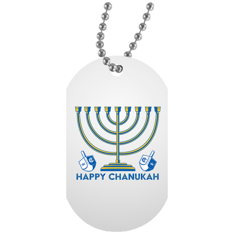 Chanukah Dog Tag
