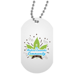 Cannabinoids Dog Tag