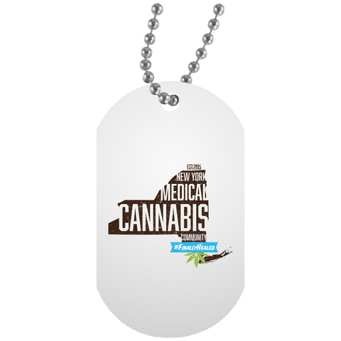 New York Medical Cannabis Community Dog Tag