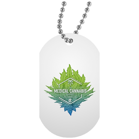 Cannabinoid Icon Dog Tag