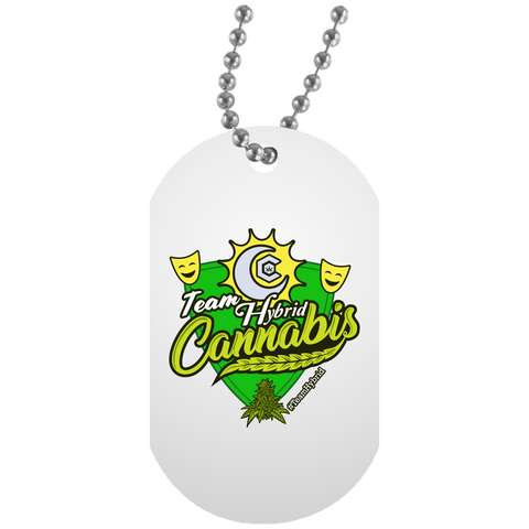 Team Hybrid Dog Tag