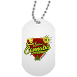 Team Sativa Dog Tag