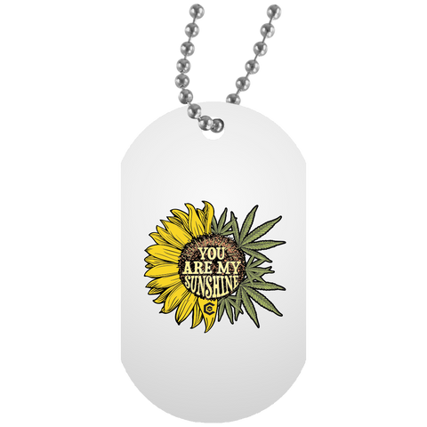 You Are My Sunshine Dog Tag