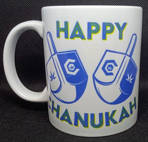 Happy Chanukah Mug 11 Oz