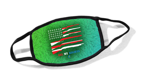 All My Rights Flag Cloth Face Mask