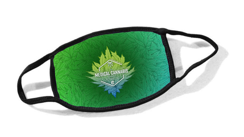 Cannabinoid Icon Cloth Face Mask
