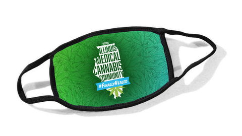 Illinois Medical Cannabis Community Cloth Face Mask
