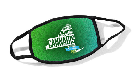 New York Medical Cannabis Community Cloth Face Mask