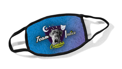 Team Indica Cassidy Dog Cloth Face Mask