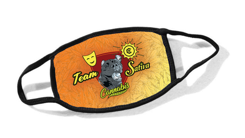 Team Sativa Cassidy Dog Cloth Face Mask