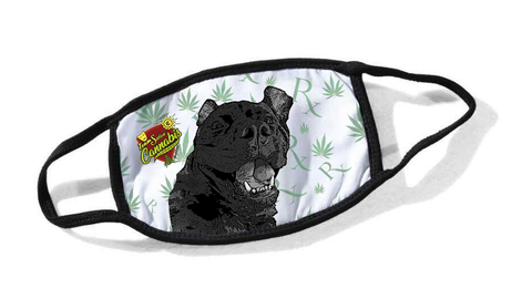 Team Sativa Cassidy Dog Cloth Face Mask #2