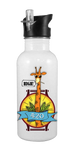 420 - HIGH Giraffe 20 oz Aluminum Water Bottle