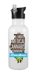 Illinois Medical Cannabis Community 20 oz Aluminum Water Bottle
