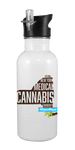 New York Medical Cannabis Community 20 oz Aluminum Water Bottle