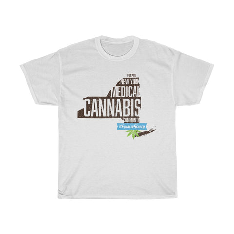 New York Medical Cannabis Community Unisex Heavy Cotton Tee