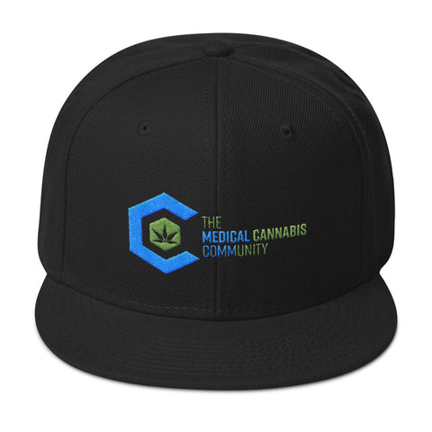 The Medical Cannabis Community Snapback Hat