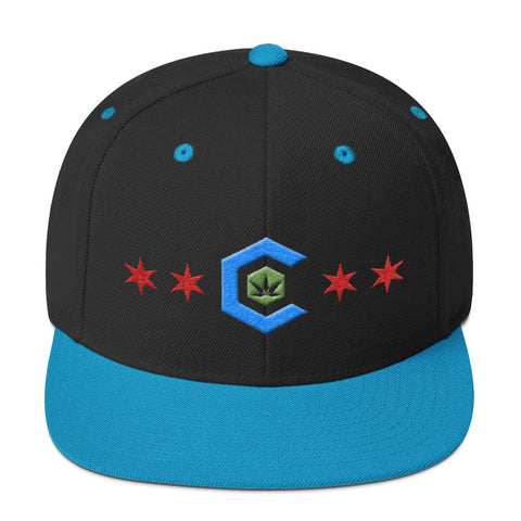 Chicago Medical Cannabis Snapback Hat